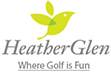 HeatherGlen Golf Course Logo